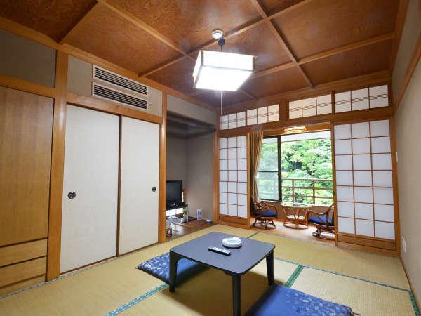 ≪客室例◆和室6畳≫お食事はお部屋にてご用意致します。カップルやご夫婦での2人旅や家族旅行にオススメ!