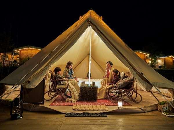 【GRAX PREMIUM CAMPRESORT 京都るり渓 】わずらわしい準備はもういらない手ぶらで快適に楽しめるキャンプ