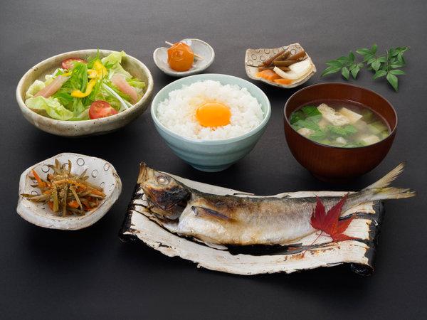 【朝食一例】食べる温泉朝ごはん
