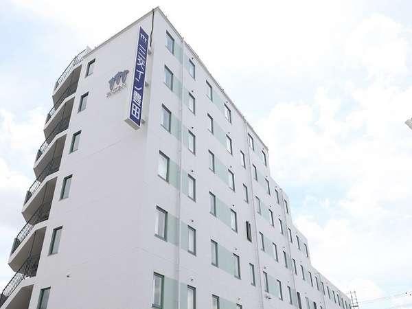 外観~国道248号線沿い、トヨタ本社工場すぐのビジネスホテルです。~