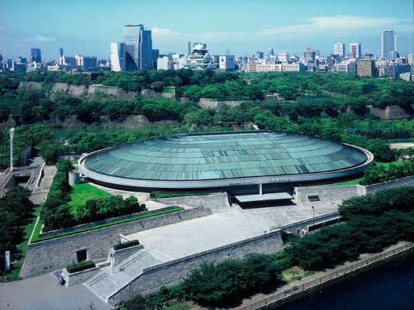 【コンサートにも便利♪】大阪城ホールまで徒歩7分。一本道なので、迷わず行っていただけます。
