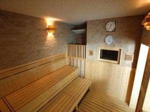 16階「スパトリニテ」浴室内サウナ