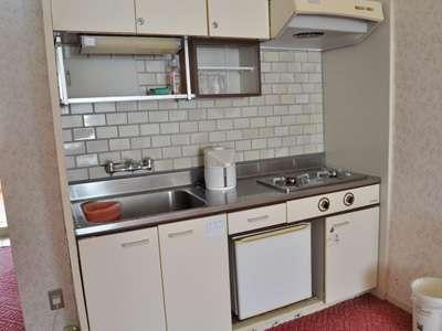 和洋室キッチンの例