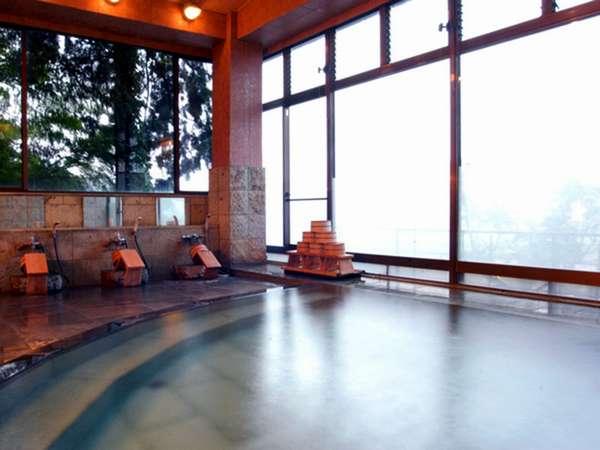*ゆったりつかれる大浴場♪天然温泉を満喫できます♪