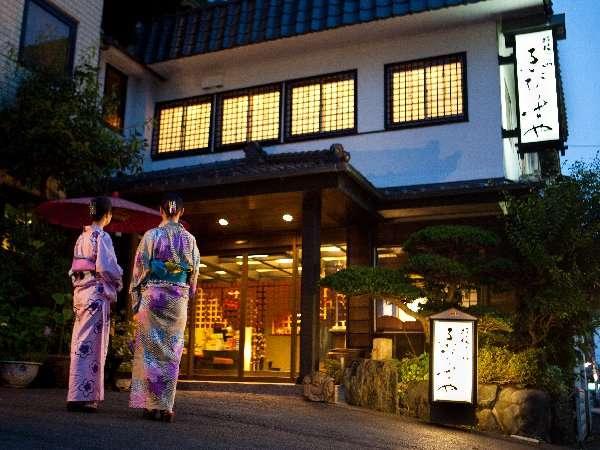 【玄関】色浴衣で夜の長岡散策!風情たっぷり♪