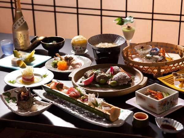 【ご夕食イメージ】旬をごゆるりとお楽しみあれ♪