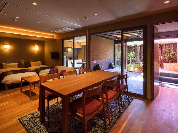 【GOZANデラックススイートルーム】60㎡以上の広さと豪華さの客室。ファミリー・グループに大人気♪