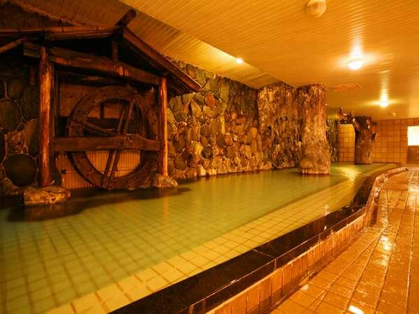 泳げそうな程広~い内湯「神庭の湯」