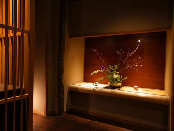 """古都・京都ならではの「和情緒」に包まれて・・・""""はんなりとしたひととき"""" をお過ごしください"""