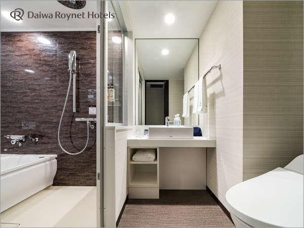 モデレートダブルルーム 浴室(一例)