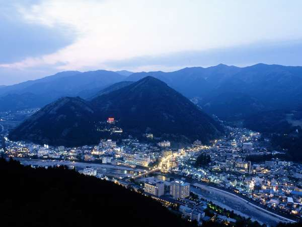 ◆【下呂温泉街夜景】