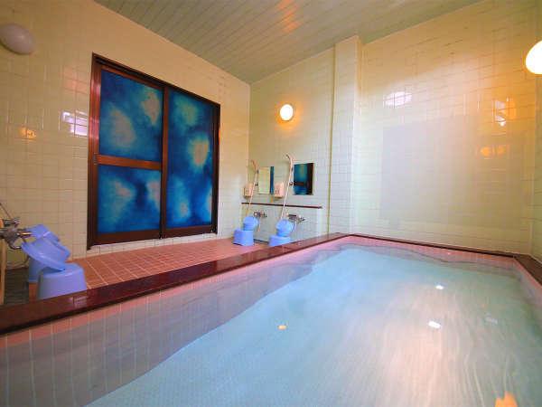 ■大浴場■どこか懐かしくホッと落ち着く。あたたかなお湯でリフレッシュ!