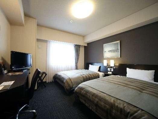 ☆120cm幅のベッド☆コンフォートツインルーム♪高層階でアメニティも豊富!全室Wi-fi完備☆