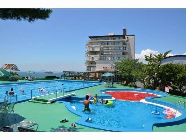 7月中旬からオープン予定の施設内プール。宿泊の方は無料でご利用いただけます!!