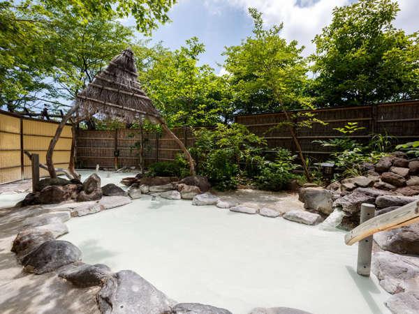 【安達屋旅館】大露天風呂大気の湯と囲炉裏を囲んでの夕食!