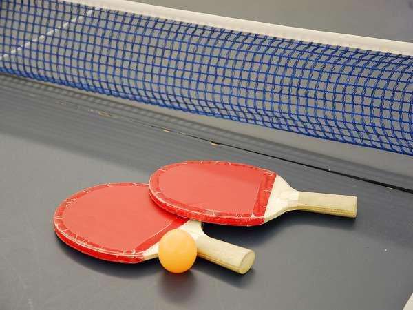 卓球コーナー♪なんと無料です☆★温泉卓球もよし、真剣勝負もよしみんなで楽しもう♪1