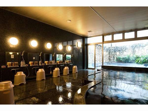 大浴場 泉質:ナトリウム・マグネシウム塩化物泉 効能:神経痛・筋肉痛・関節痛などt