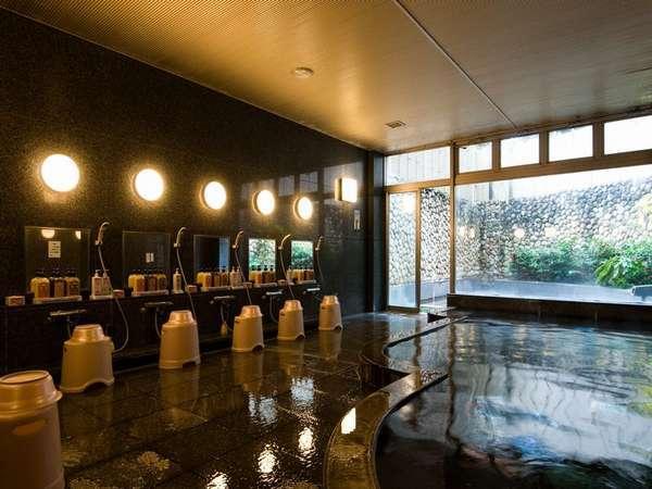 大浴場 泉質:ナトリウム・マグネシウム塩化物泉 効能:神経痛・筋肉痛・関節痛など