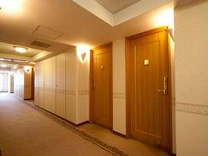 ◆客室階廊下◆