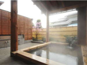 鶴姫の湯 貸切露天風呂としてもご利用頂けます。