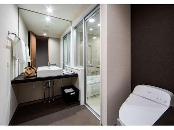 セミセパレート式バスルーム