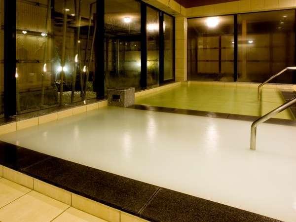 白い湯は、美肌効果抜群の高濃度酸素風呂マイクロバブルバス☆