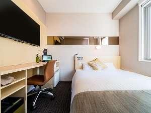■スタンダードルーム■150cm幅のベッドでぐっすり広々睡眠■