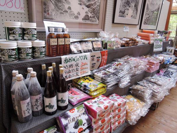 *■館内売店■ご当地限定の銘菓や商品、調味料など幅広く取り揃えております。
