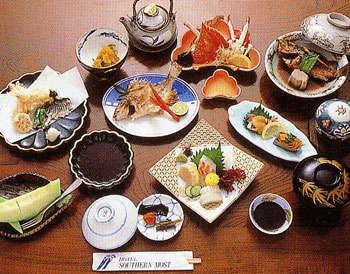 夕食例瀬戸内魚料理