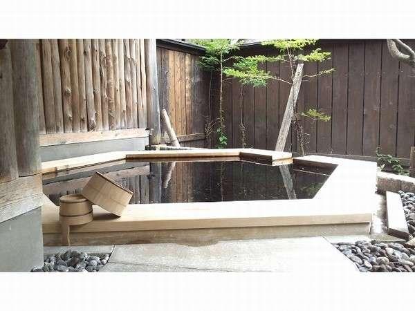 貸切風呂の一つ 庭の湯
