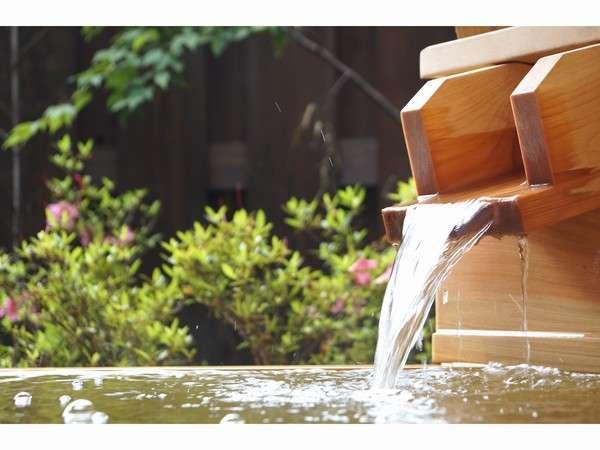 昼の客室露天風呂