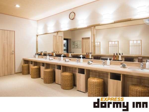 ◆女性大浴場洗面台(6台)