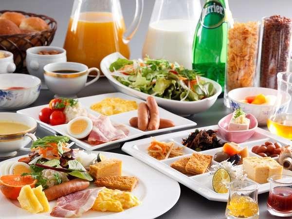 ◇約40種類の和洋バイキング朝食◇朝7:00~9:00