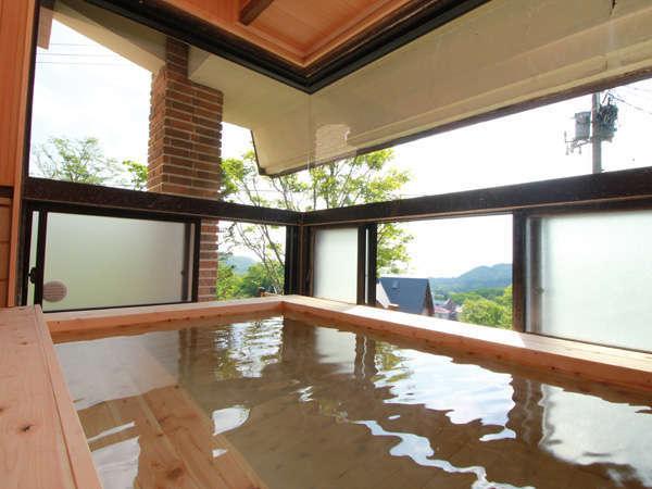 温泉から自慢の「高台からの風景」が望めます