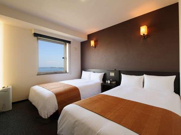 ◆ツイン◆ 14平米【ベッド幅120cm×2】
