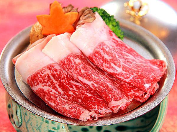 ≪国産牛…金の源泉蒸≫