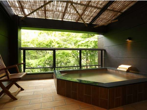 【箱根 強羅 月の泉】全9室の専用露天風呂強羅温泉で免疫力をアップ!