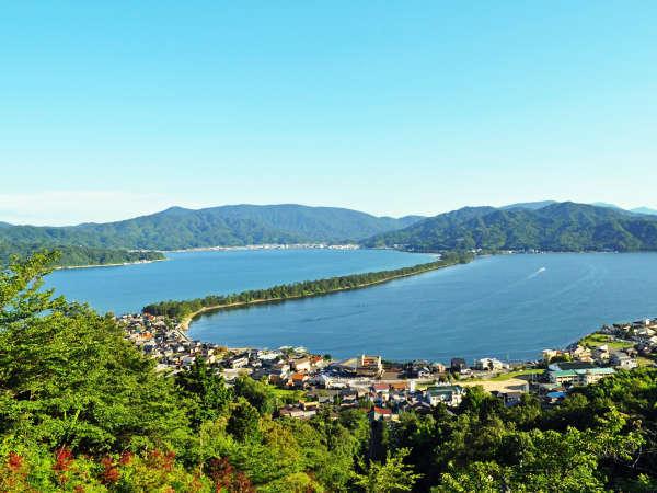 日本三景の一つ「天橋立」です