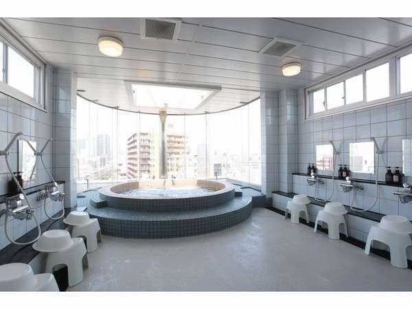 屋上展望男性大浴場
