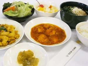 中華料理ご夕食一例