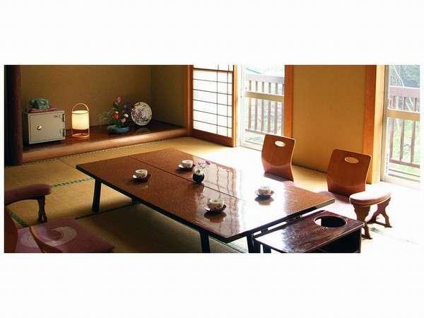 和洋室の一例ゆったりしたお部屋もございます