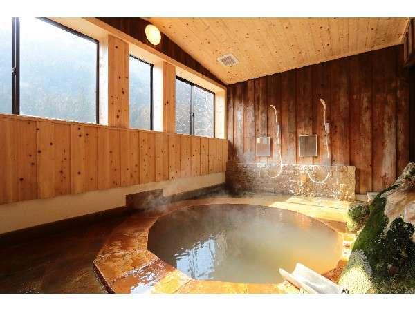 内風呂「赤城名月風呂」