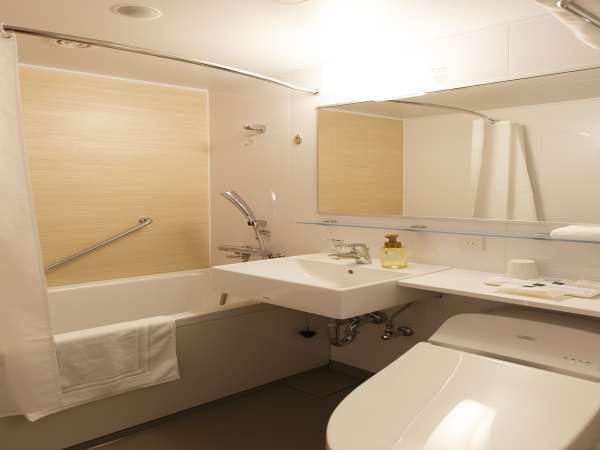 清潔感あふれるバスルーム(スタンダードシングル、スタンダードツイン、スタンダードダブル)
