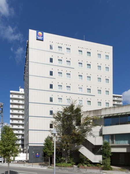 コンフォートホテル刈谷■青いコンフォートのロゴが目印!