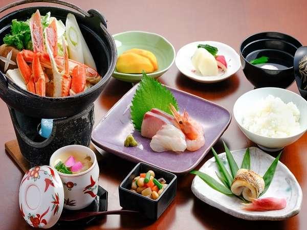 夕食一例 蟹鍋