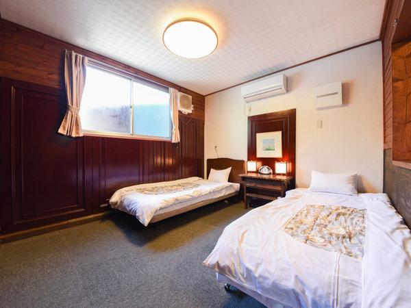ドッグラン付コテージ/寝室スペース