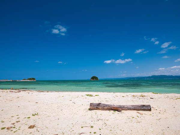 *ビーチ/ほぼプライベートビーチ状態の海まで徒歩約30秒!