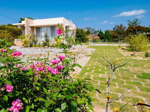*外観/2019年NEWOPEN!広いお庭付きの一戸建て貸別荘で素敵な沖縄旅行を☆