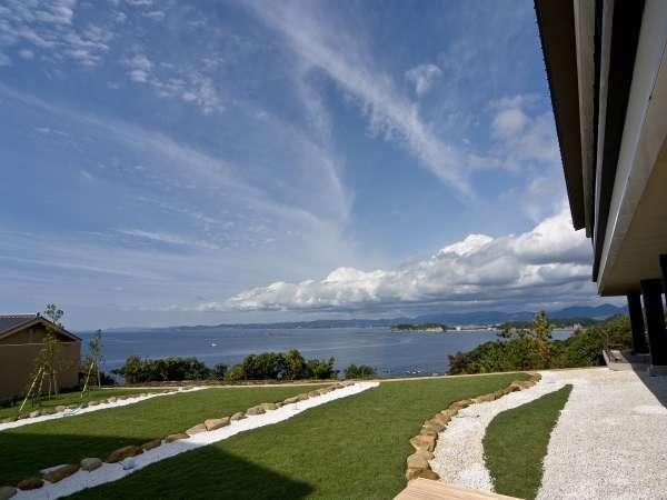 【らうんじからの景色】らうんじより太平洋をご覧いただけます。