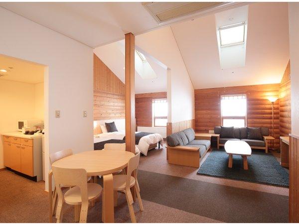 ◆ホワイトバーチ キッチンを兼ね備えた広々としたお部屋です。